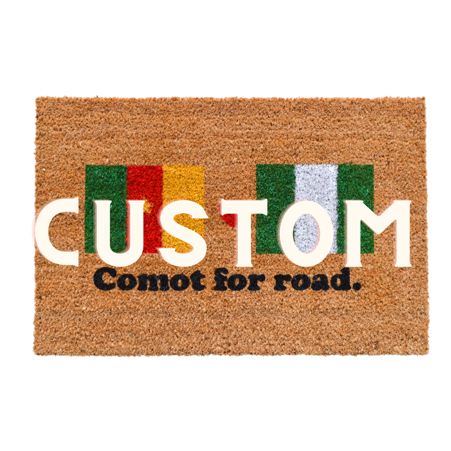 Custom African Inspired Doormat