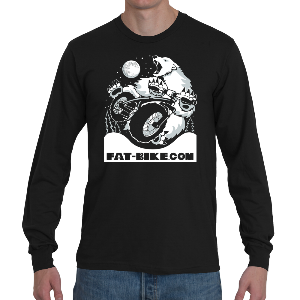 Polar Bear Tailwhip Long Sleeve T-shirt