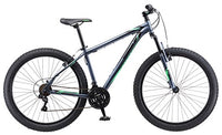 "Mongoose Rader 27.5+ Men's 2.8"" Tire Fat Tire Bike Medium Frame Size Grey"