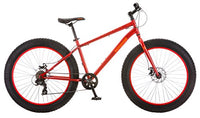 Mongoose Aztec Fat Tire Bicycle Red