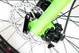 Gravity Bullseye Monster 26 inch Fat-Bike 26in Wheel Disc Brake Bicycle Gloss Black