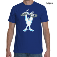 Fat-bike.com Yeti Von Evil T-Shirt - Blues
