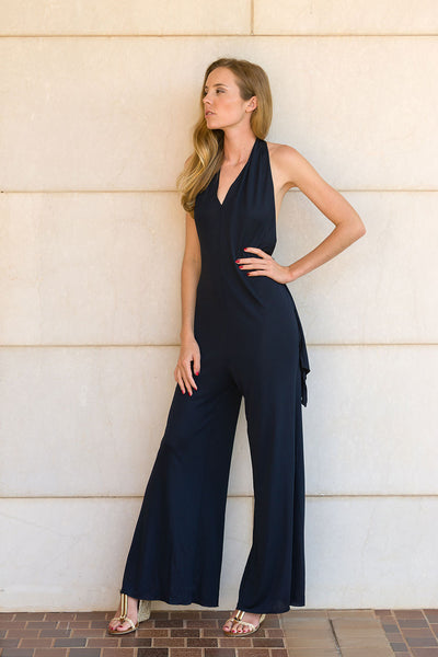 Nina Catsuit Featured Navy