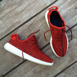 Red Yeezy (Customer Provides Shoes) - WallyChamp  - 3