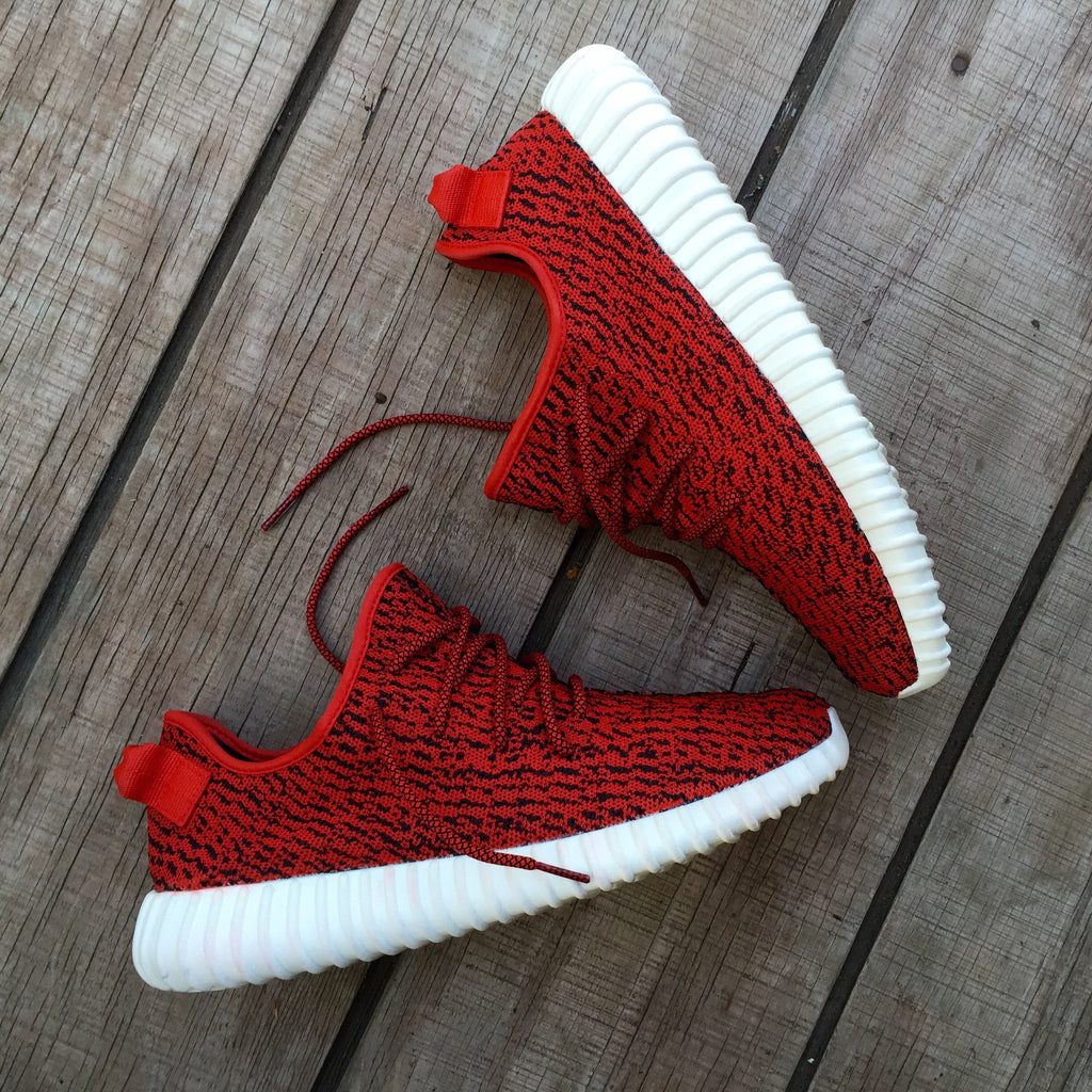 Red Yeezy (Customer Provides Shoes) - WallyChamp  - 1