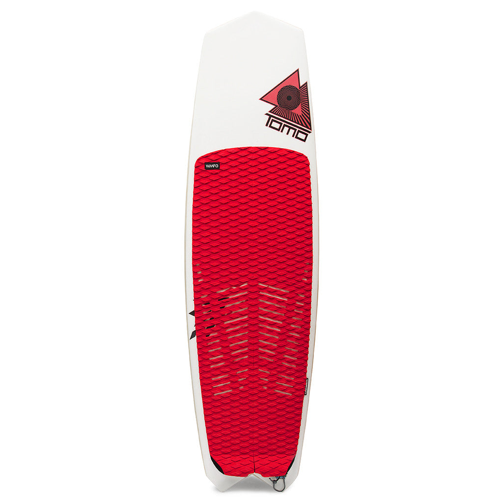 WMFG TRACTION: Stubby Six Pack Kiteboard Deck Pad Grooved or Diamond Pattern