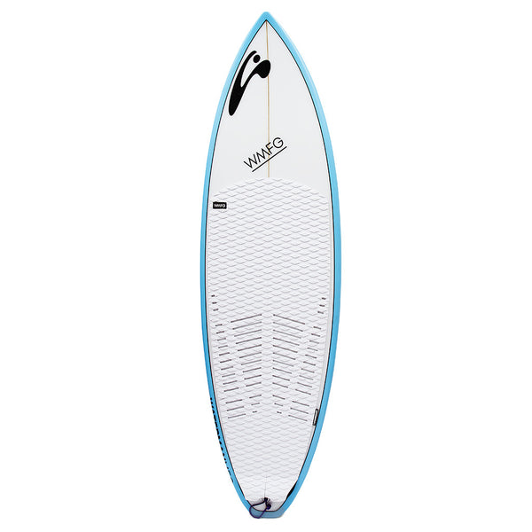 WMFG Six Pack Kiteboard Deck pad and traction
