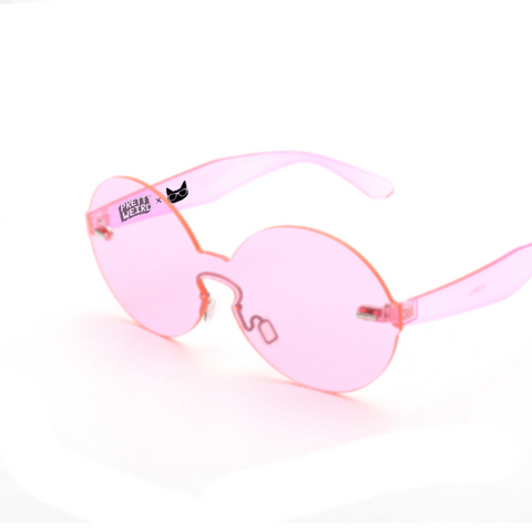 Pretty Weird x Catseye Pink Sunnies