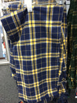 ADULT BLUE/GOLD FLANNEL PANTS
