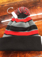 COMEBACK BEANIE - BLACK/RED