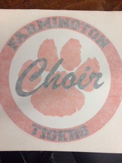 CAR DECAL - FARMINGTON CHOIR