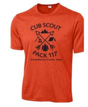 CUB SCOUTS HEATHER CONTENDER TEE
