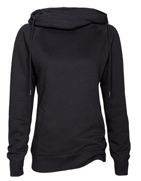 ENZA FLEECE FUNNEL NECK PULLOVER