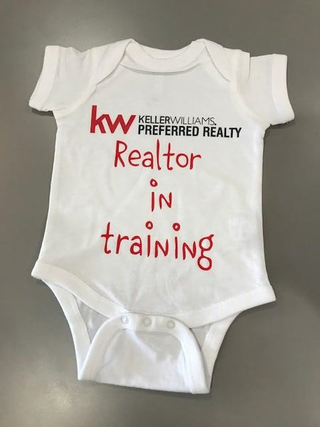 KW REALTOR IN TRAINING INFANT ONESIE