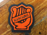 CHENILLE MARCHING BAND PATCH