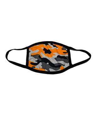 100% COTTON CAMO FACE MASK