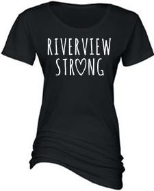 RIVERVIEW STRONG LADIES ESSENTIAL CREW NECK TEE