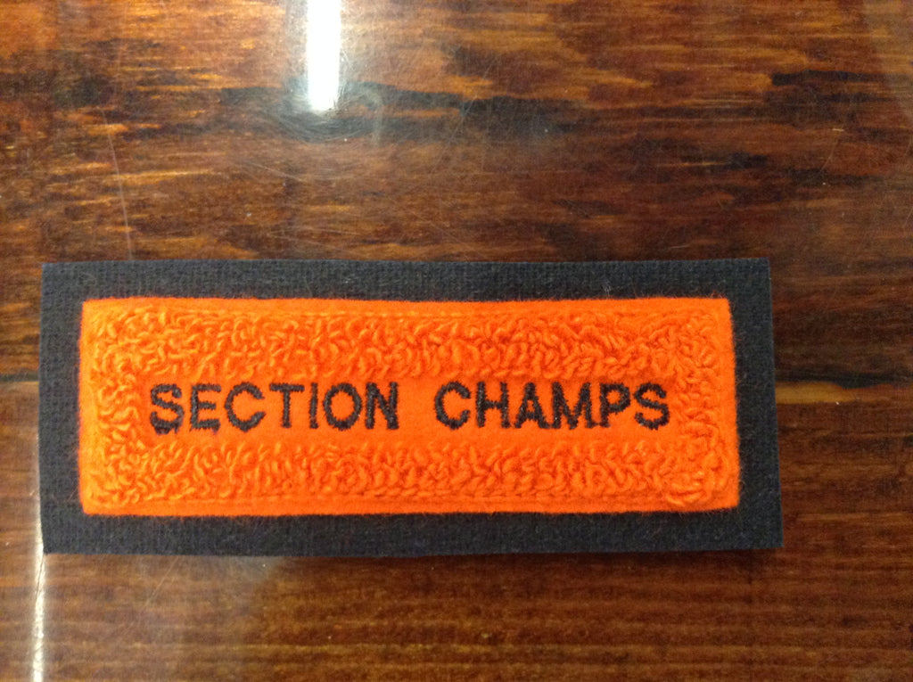 CHENILLE SECTION CHAMPS BAR