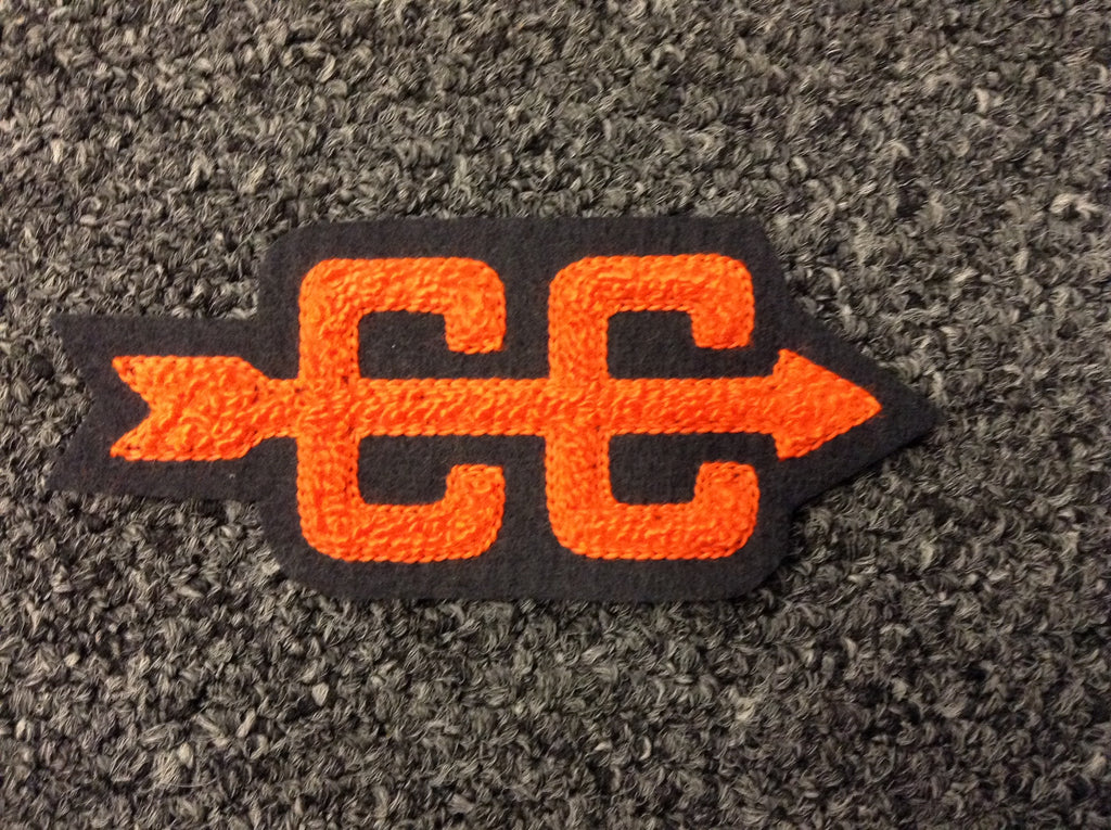CHENILLE CROSS COUNTRY PATCH