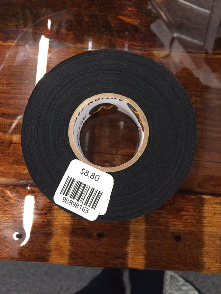 "BLACK HOCKEY TAPE 1""x20 YARDS"