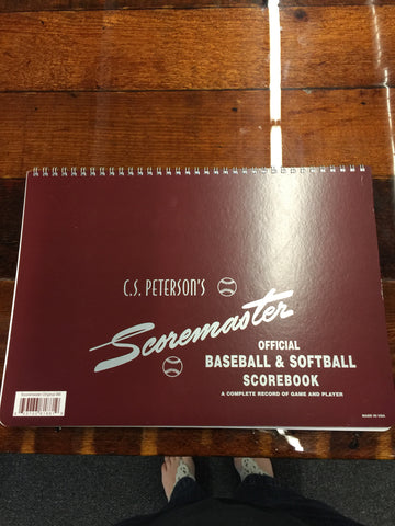BASEBALL AND SOFTBALL SCOREBOOK