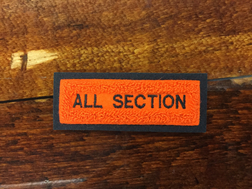 CHENILLE ALL SECTION BAR