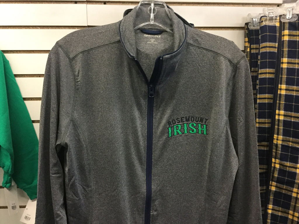 MENS IRISH GREY FZ