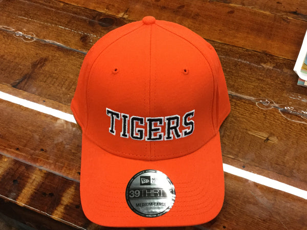 BASEBALL CAP - FITTED ORANGE TIGERS