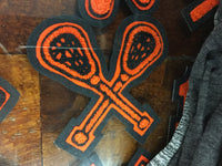 CHENILLE LACROSSE PATCH