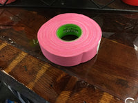 "NEON PINK HOCKEY TAPE 1""x27.5 YARDS"