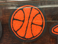 CHENILLE BASKETBALL PATCH