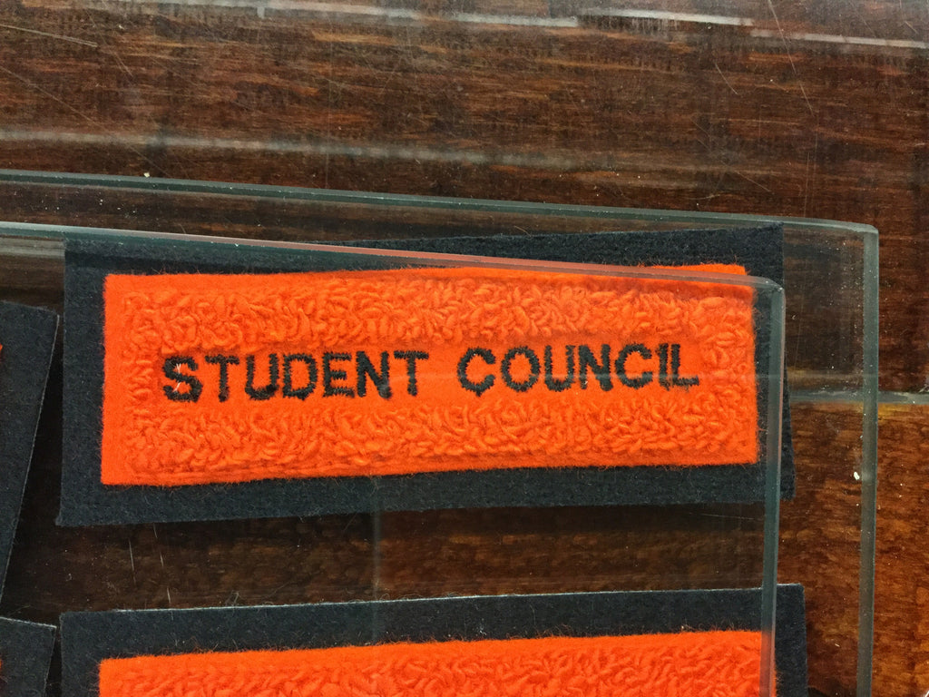 CHENILLE STUDENT COUNCIL BAR