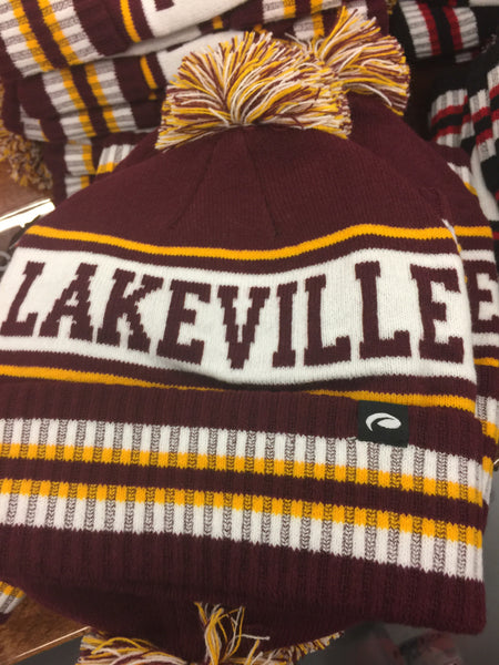 KNIT LAKEVILLE SOUTH POM HAT