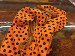 INFINITY SCARF STRIPES DOTS DIN811