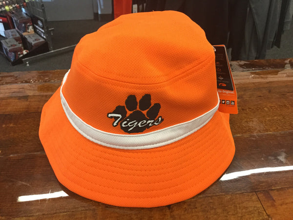 BUCKET HAT WITH TIGER PAW