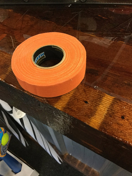 "ORANGE CLOTH  TAPE 1""x27.5 YARDS"
