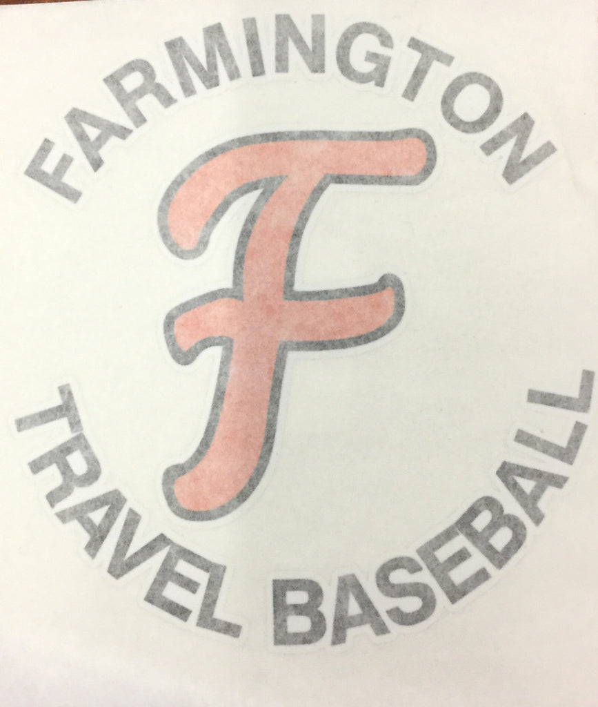 CAR DECAL - TRAVEL BASEBALL