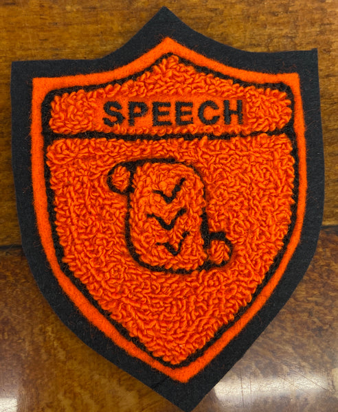 CHENILLE SPEECH SHEILD