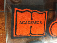 CHENILLE ACADEMIC BOOK PATCH