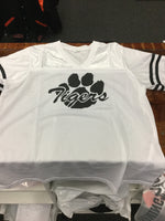 LADIES TIGER PAW FOOTBALL JERSEY