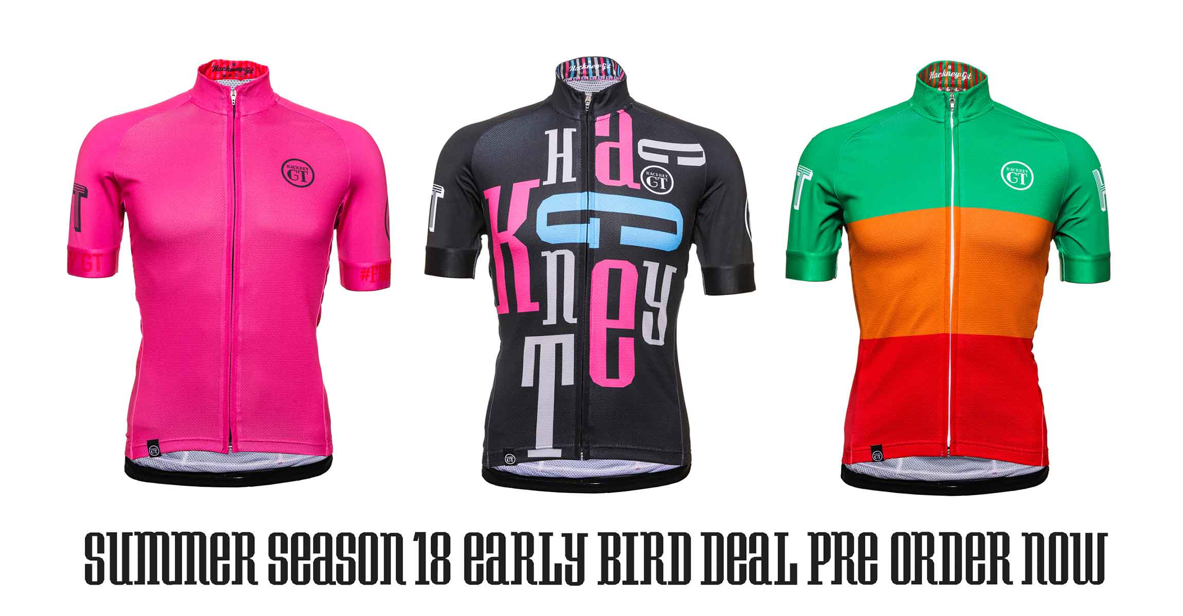 Hackney GT new 2018 jersey range and early bird offer