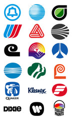 Saul Bass corperate logos