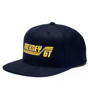 Hackney GT GTX Snap Back cap - black and yellow