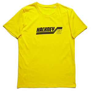 Hackney GT GTX Organic Fairtrade Yellow t shirt