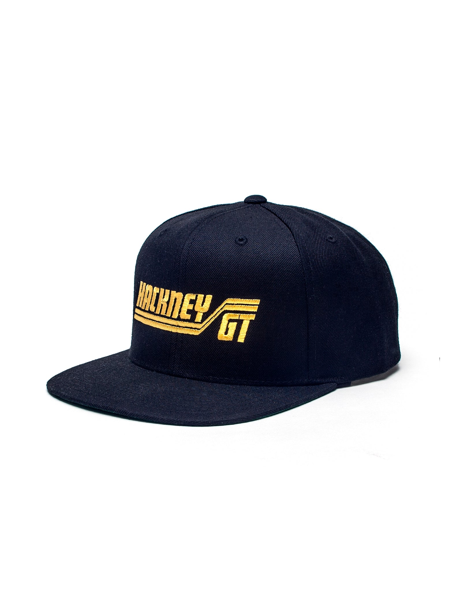 Hackney GT snapback cap black yellow