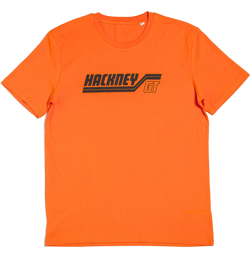 Hackney GT GTX Organic Fair-trade Orange t-shirt