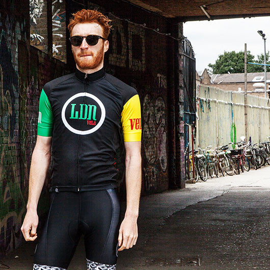 Hackney GT LDN short sleeve cycle jersey