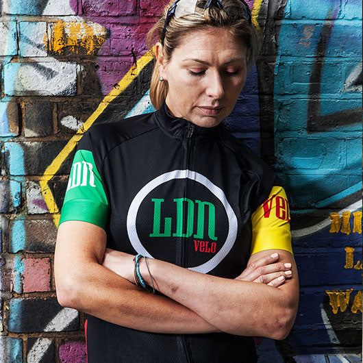 Hackney GT LDN womens cycle jersey