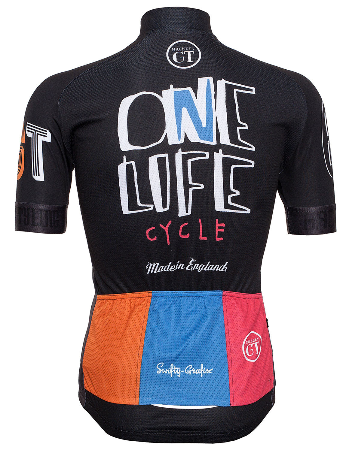 Hackney GT One Life Cycle jersey rear