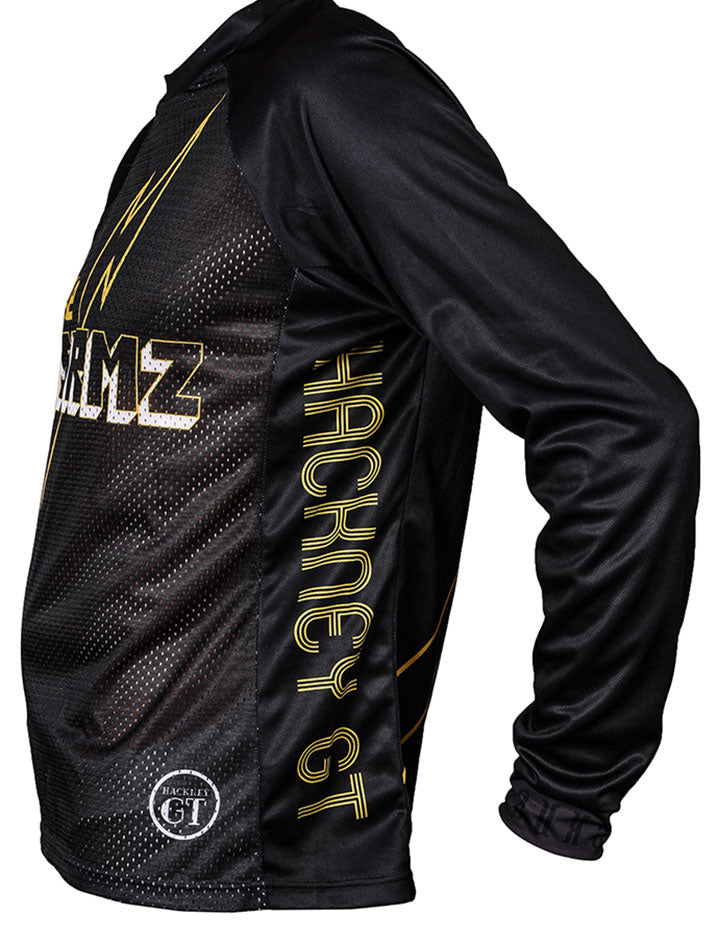 hackney Gt Bike stormz mountain bike MTB top jersey side